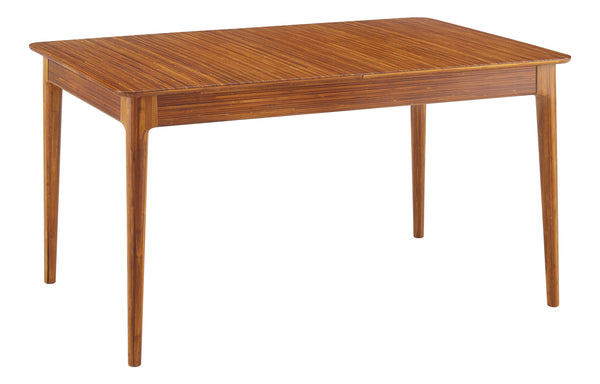 Mija Extensible Dining Table by Greenington - Amber Solid Wood.