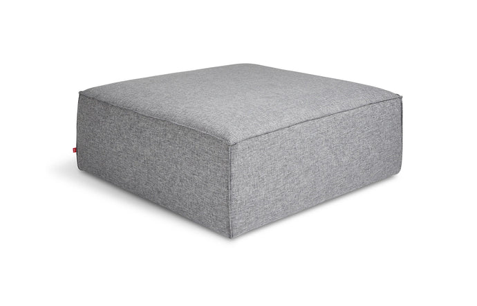 Mix Modular Ottoman by Gus - Parliament Stone.