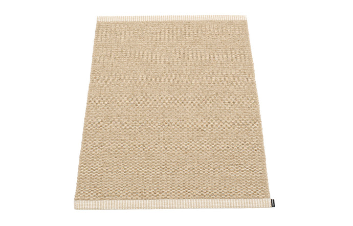 Mono Beige & Light Nougat Rug by Pappelina - 24