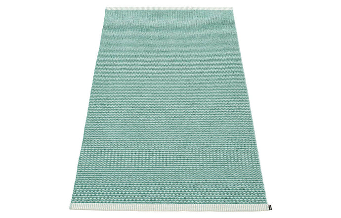 Mono Jade & Pale Turquoise Rug by Pappelina - 24