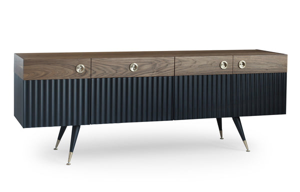 Neomi Side Board by SohoConcept, showing angle view of side board.