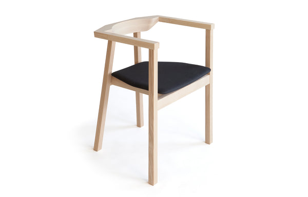 Skandinavia Upsala Chair by Nikari - Fabric 4: Steelcut Trio By Kvadrat.