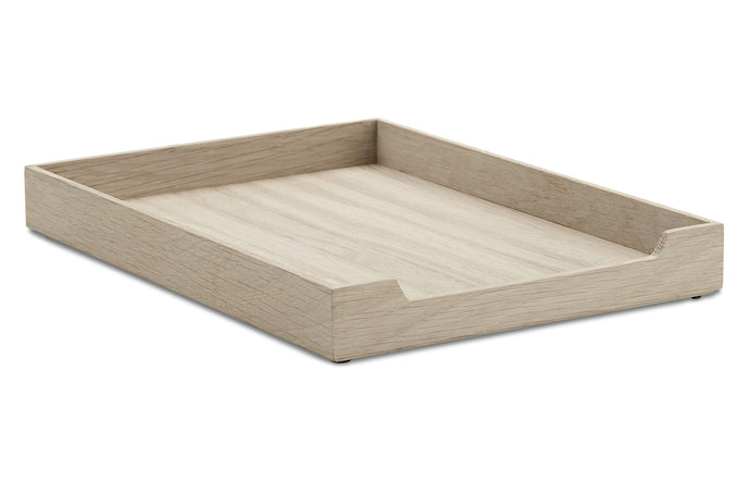 Nomad Letter Tray by Skagerak - Natural Oak Wood.