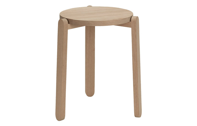 Nomad Stool by Skagerak - Natural Oak Wood.