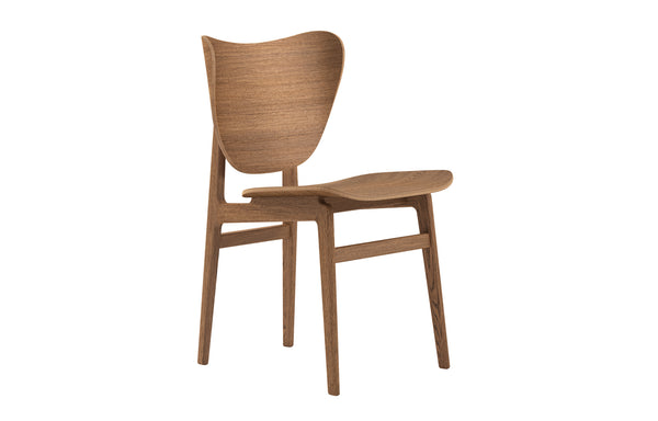 Elephant Dining Chair by Norr11 - Light Smoked Oak, No Upholstery.