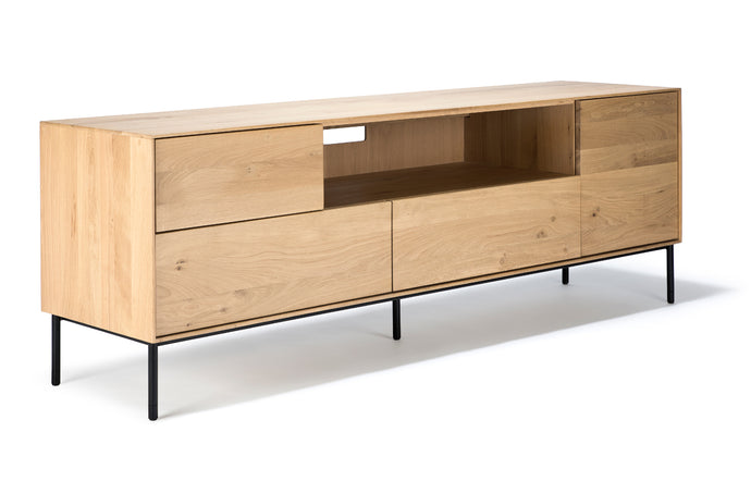 Whitebird Oak TV Cupboard by Ethnicraft.