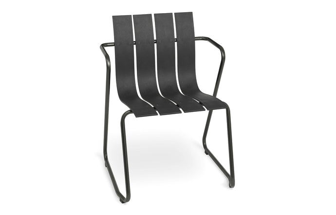 Ocean Dining Chair by Mater - Black.