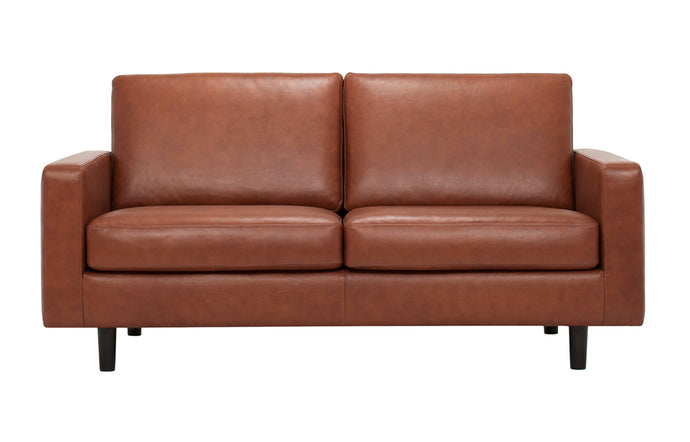 Oskar Leather Loveseat by EQ3.