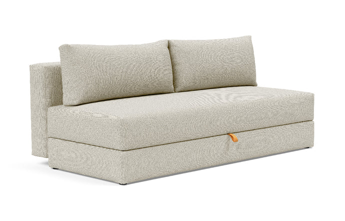 Osvald Sofa Bed by Innovation - 527 Mixed Dance Natural (stocked).