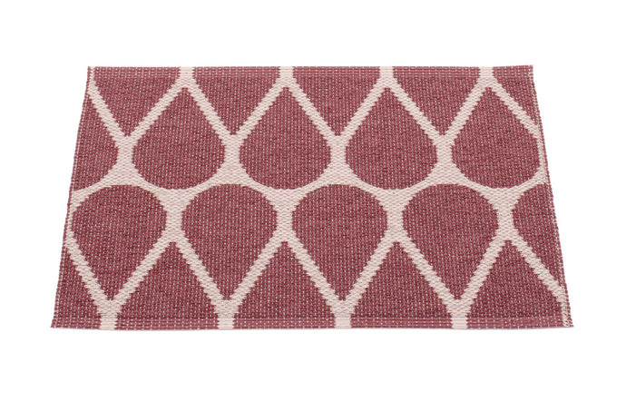 Otis Rose Taupe & Pale Rose Runner Rug by Pappelina - 28