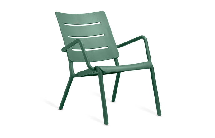 Outo Lounge Chair by Toou - Dark Green.