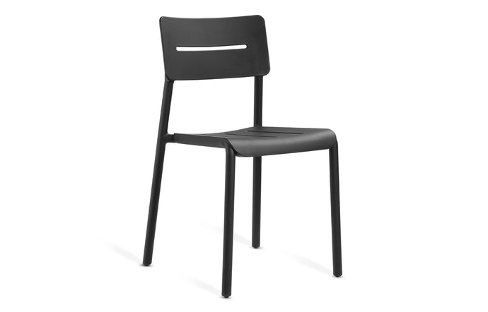 Outo Side Chair by Toou - Black.