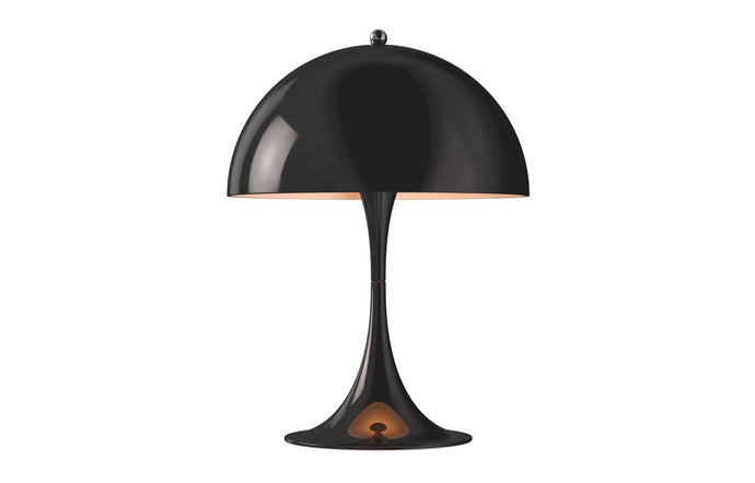 Panthella Mini Indoor Table Lamp by Louis Poulsen - Black