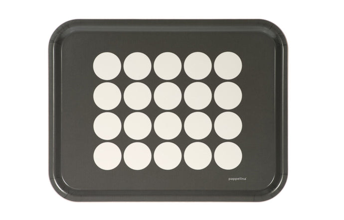Fia Charcoal Tray by Pappelina.