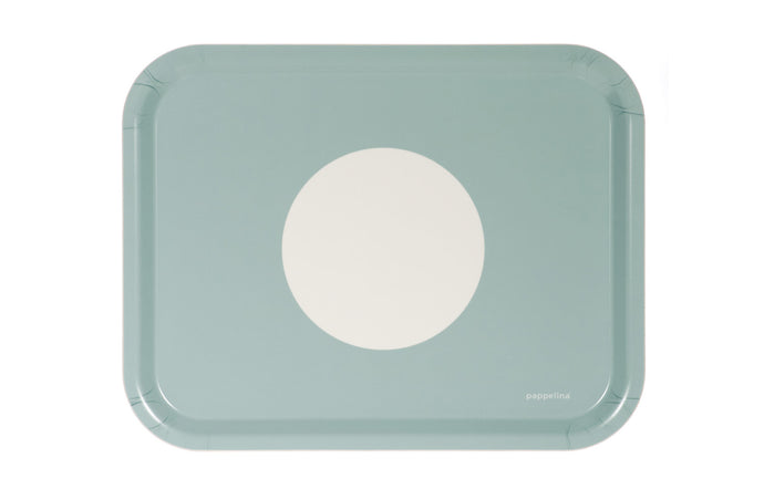 Vera Turquoise Tray by Pappelina.