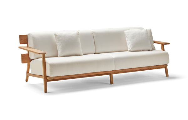Paralel 3 Seater Sofa by Point - Fabric G1-22.