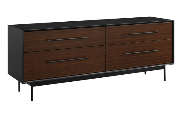 Park Avenue Ruby 4 Drawer Double Dresser by Greenington - Ruby Wood.