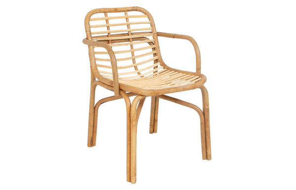 Peak Rattan Dining Armchair by Cane-Line - Natural Rattan.