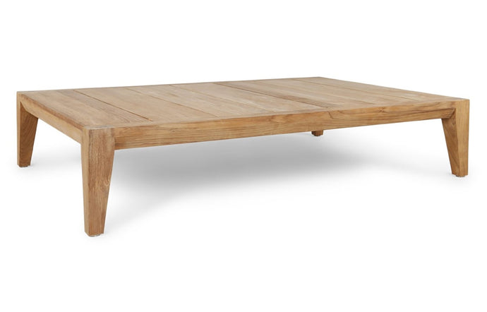 Pier Teak Coffee Table by Harbour - Natural Teak Wood.