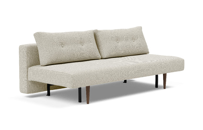 Recast Plus Sofa Bed Dark Styletto by Innovation - 527 Mixed Dance Natural (stocked).