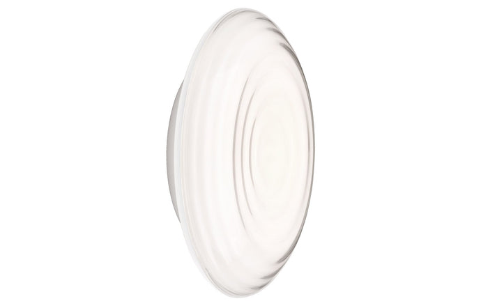 Ripls Indoor Wall Sconce by Louis Poulsen - White Opal/Satin Matt White.
