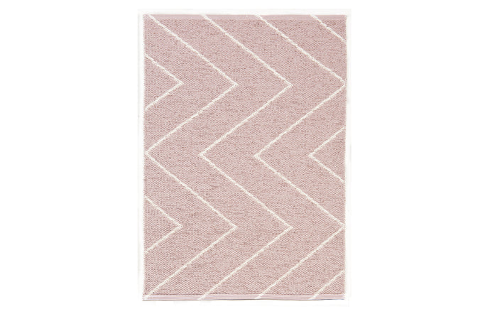 Rita Dusty Rose Rug by Brita.