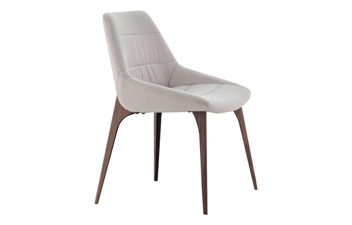 Rutgers Dining Chair by Modloft Black.