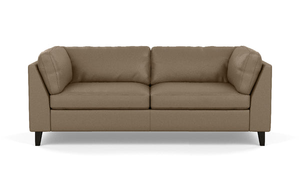 Salema Leather Apartment Sofa by EQ3.