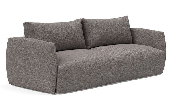 Salla Full Sofa Bed by Innovation - 521 Mixed Dance Grey (stocked).