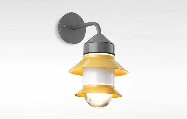 Santorini A Fixed Stem Wall Light by Marset.