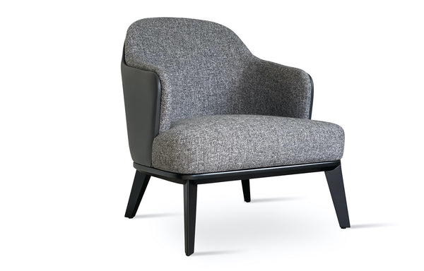 Saphire Arm Chair by SohoConcept - Inside Grey Tweed/Outside Grey PPM-FR