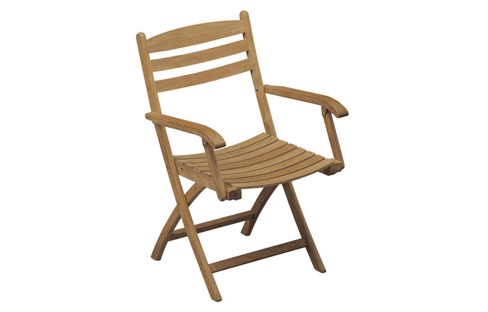 Selandia Teak Armchair by Skagerak - No Textile Cushion/Teak.