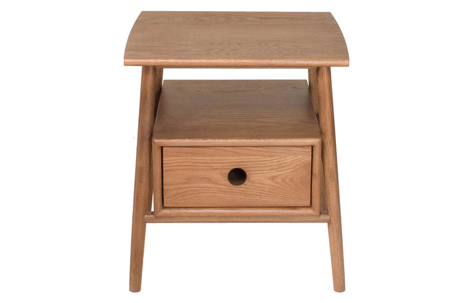 Sitka Side Table by Sun at Six - Sienna Wood.