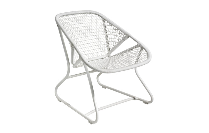 Sixties Armchair by Fermob - Cotton White (matte textured)