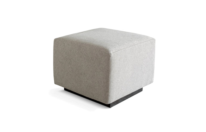 Sparrow Ottoman by Gus Modern - Parliament Stone.