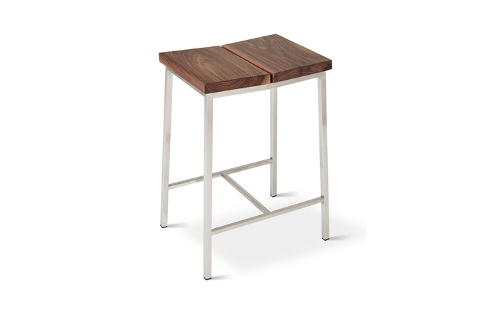 Stanley Stool by Gus Modern - Walnut.