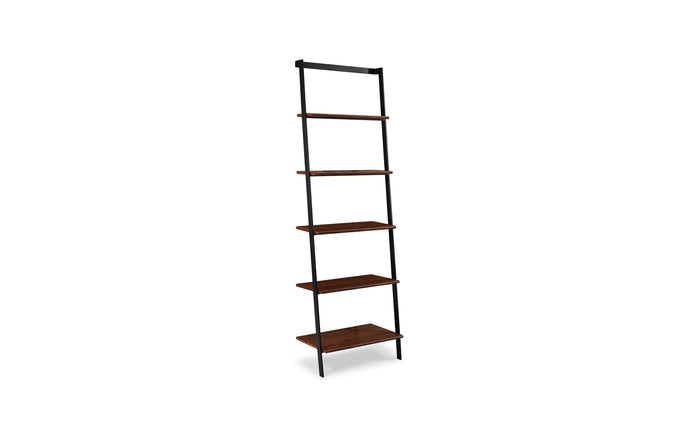 Studio Exotic Line Leaning Shelf by Greenington - Exotic Wood.