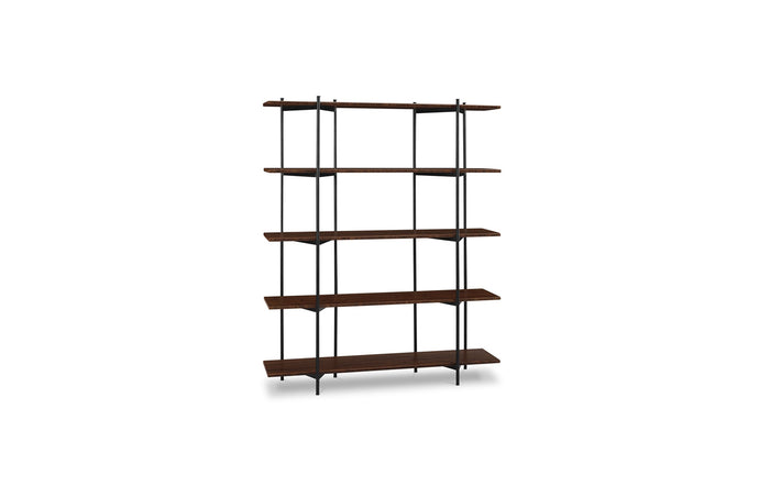 Studio Exotic Line Metal Shelf by Greenington - Exotic Wood.