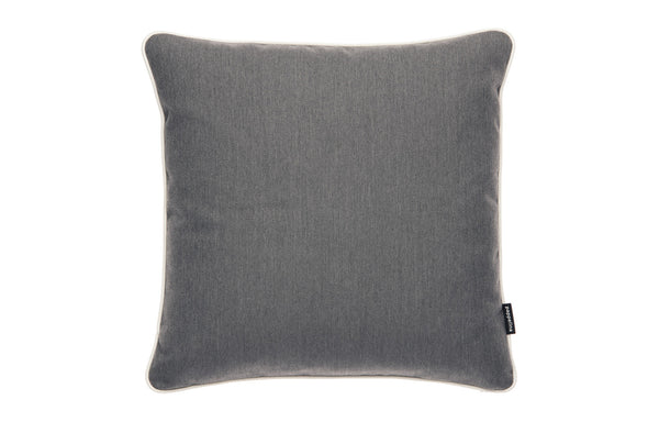Sunny Dark Grey Indoor & Outdoor Cushion by Pappelina - 17