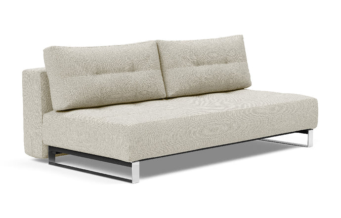 Supremax D.E.L. Sofa Bed by Innovation - 527 Mixed Dance Natural (stocked).