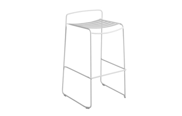 Surprising Bar Stool by Fermob - Cotton White (matte textured)