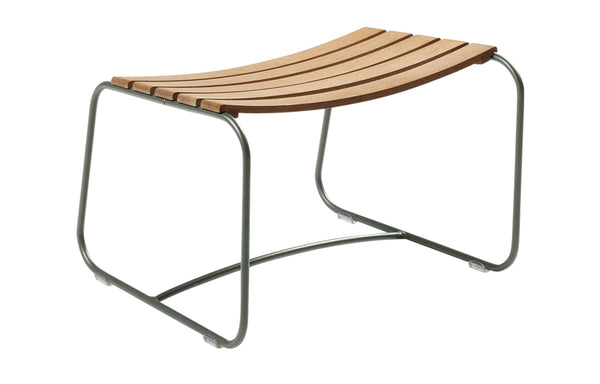 Surprising Teak Footrest by Fermob - Rosemary (matte textured)