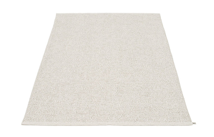 Svea Metallic Stone & Fossil Grey Rug by Pappelina - 55