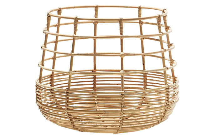Sweep Rattan Round Basket by Cane-Line - Natural Rattan.