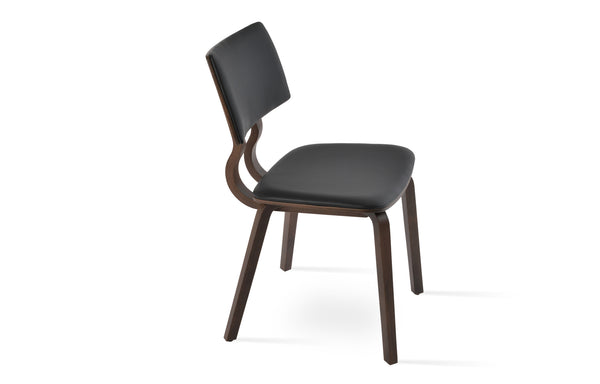 Taylor Chair by SohoConcept - Black Leatherette
