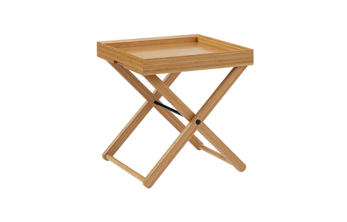 Teline Caramelized Tray Table by Greenington - Caramelized Wood.