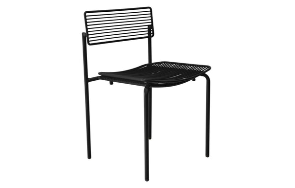 The Rachel Chair w/o Seatpad by Bend - Black Metal Frame.