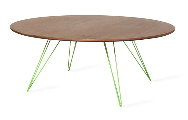 Williams Round Coffee Table by Tronk Design - Large Circle: 46
