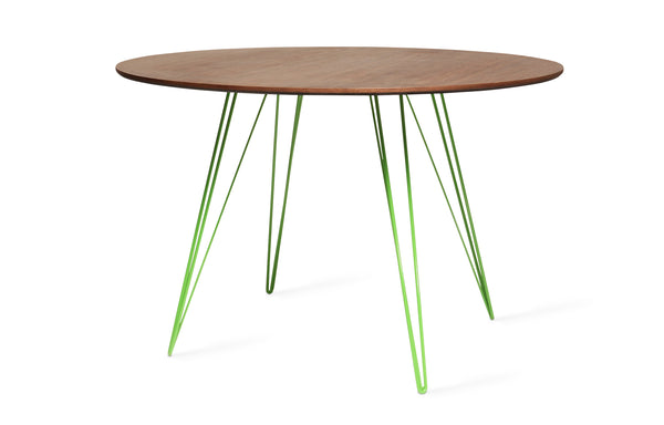 Williams Round Dining Table by Tronk Design - Large Circle: 46
