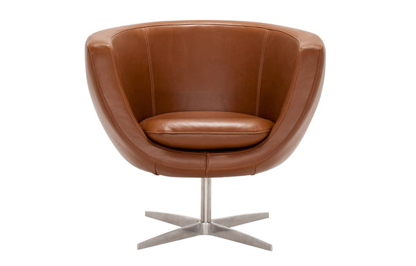 Tub Leather Chair by EQ3.